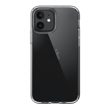 Speck Presidio Perfect-Clear case for iPhone 12 / 12 Pro - Clear