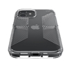 Speck Presidio Perfect-Clear with Grips case for iPhone 12 / 12 Pro - Clear