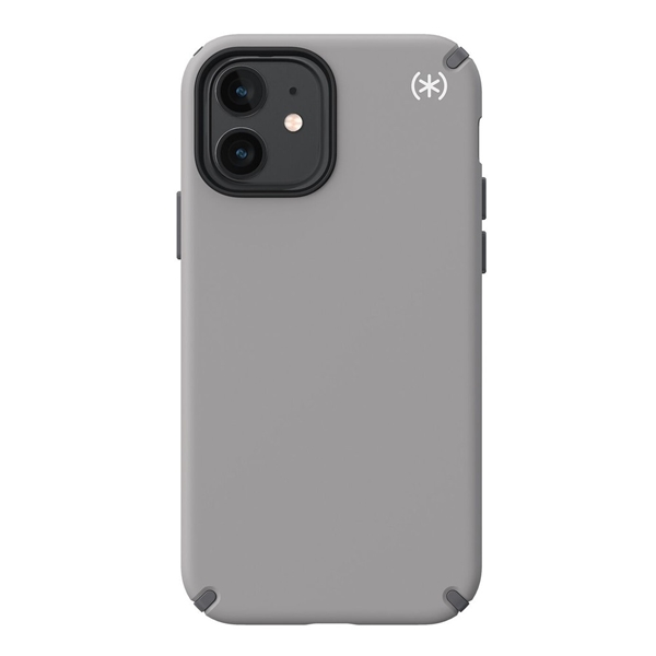 Speck Presidio2 Pro case for iPhone 12 / 12 Pro - Cathedral Grey