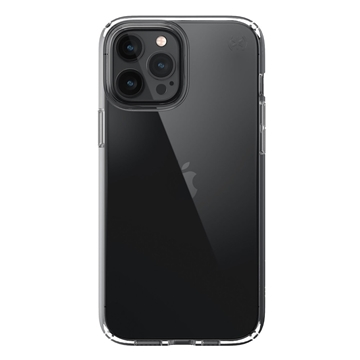 Speck Presidio Perfect-Clear case for iPhone 12 Pro Max - Clear