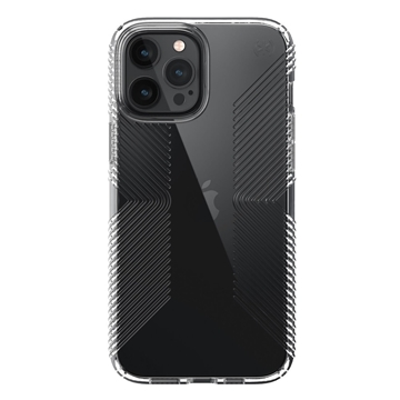 Speck Presidio Perfect-Clear with Grips case for iPhone 12 Pro Max - Clear