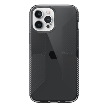 Speck Presidio Perfect-Clear with Grips case for iPhone 12 Pro Max - Obsidian