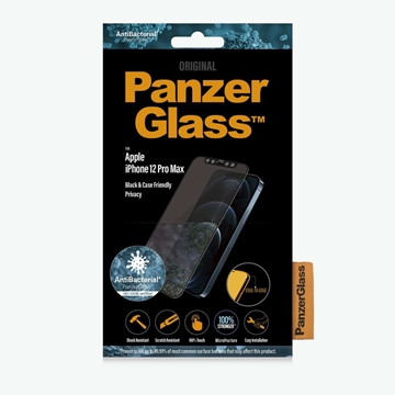 PanzerGlass Privacy Screen Protector for iPhone 12 Pro Max - Black