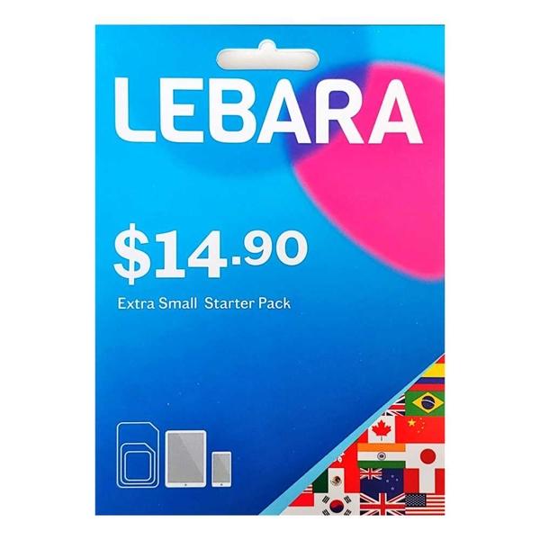 Lebara $14.9 SIM Starter Pack