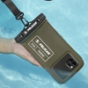 Pelican Marine Waterproof IP68 Rated Smartphone Pouch - Olive Green