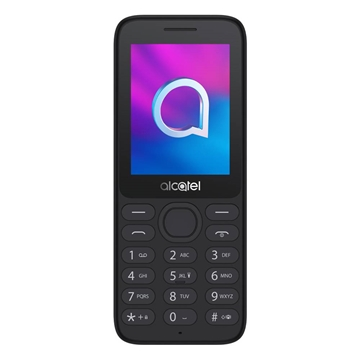 [Open Box] Alcatel 3080 (4G/LTE, Senior Phone, Keypad, 128MB/64MB) - Black