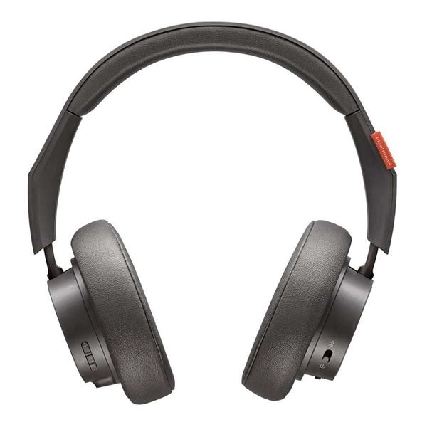 Plantronics BackBeat GO 600 Over-The-Ear Bluetooth Noise-Isolating Headphones - Grey