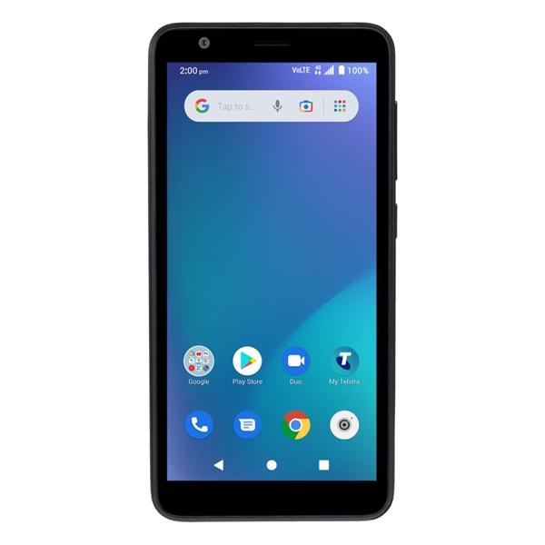 Telstra ZTE Essential Smart 2.1 (4GX, Blue Tick, 32GB/1GB) - Black